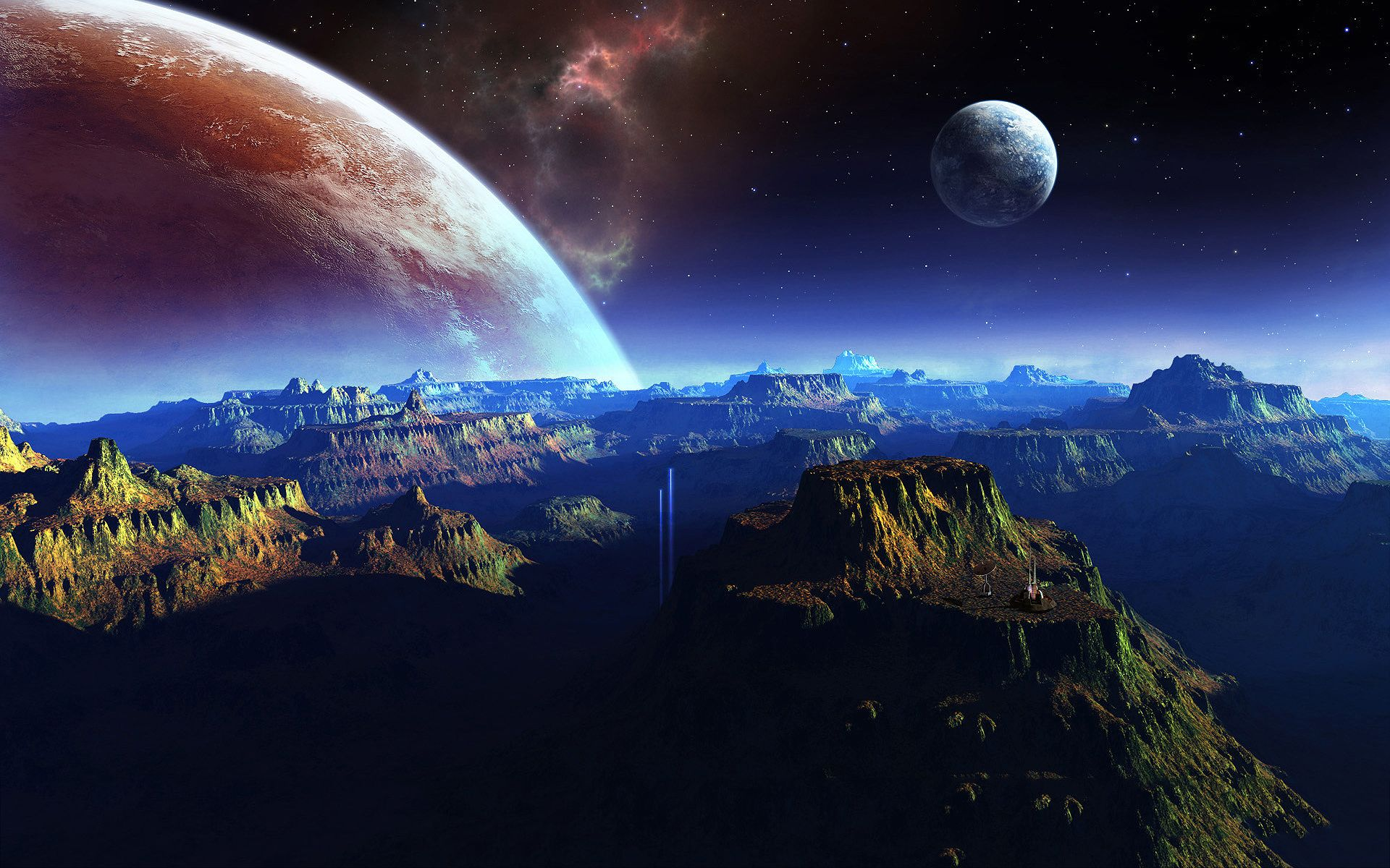 Fantasy Planet Space Art Wallpapers Pictures Photos Images