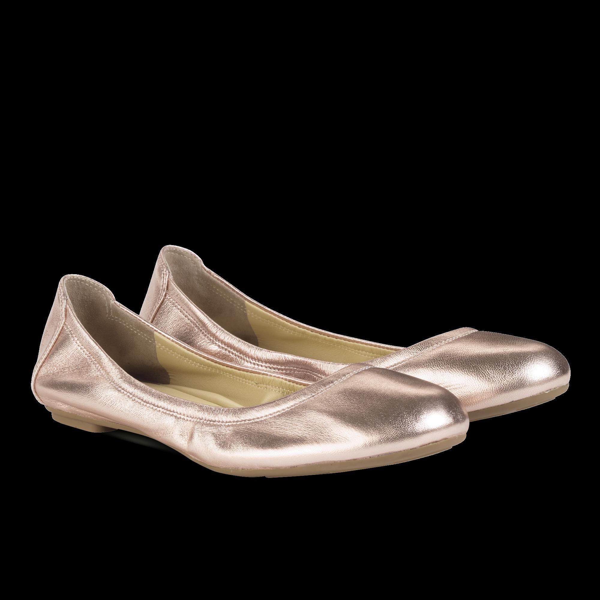 Rose Gold Ballet Flats | Cole Haan