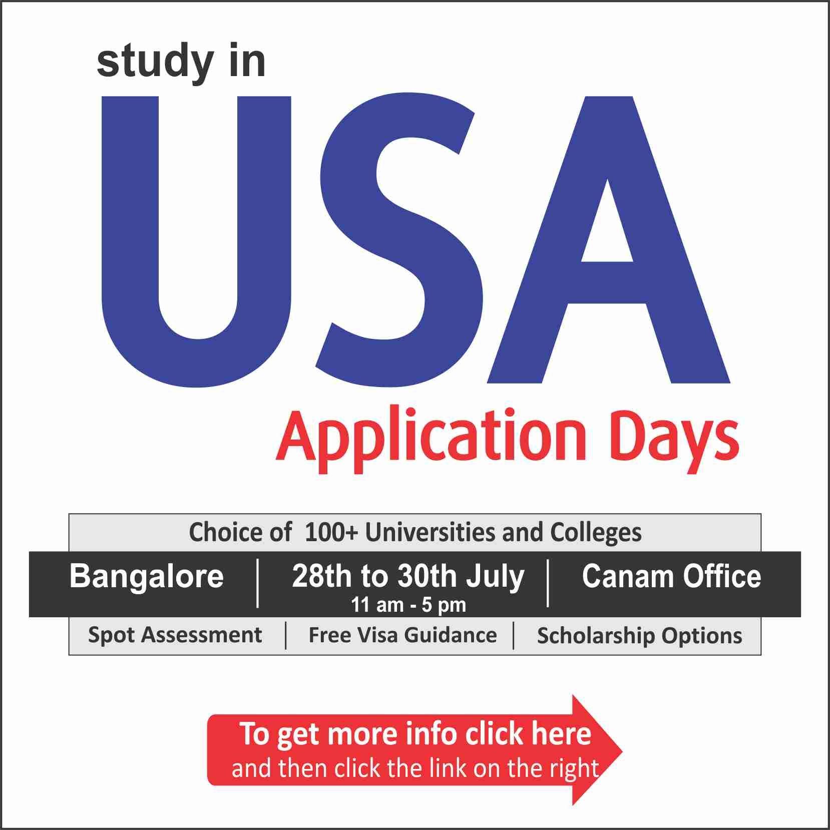 #USA Application Day. For complete information & enrolment ...