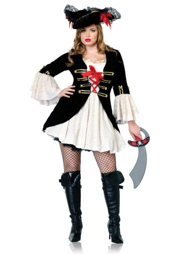 f96db7dc43905 CurvyMarket - Captain Swashbuckler by AngeliqueLingerie Sexy Pirate Costume