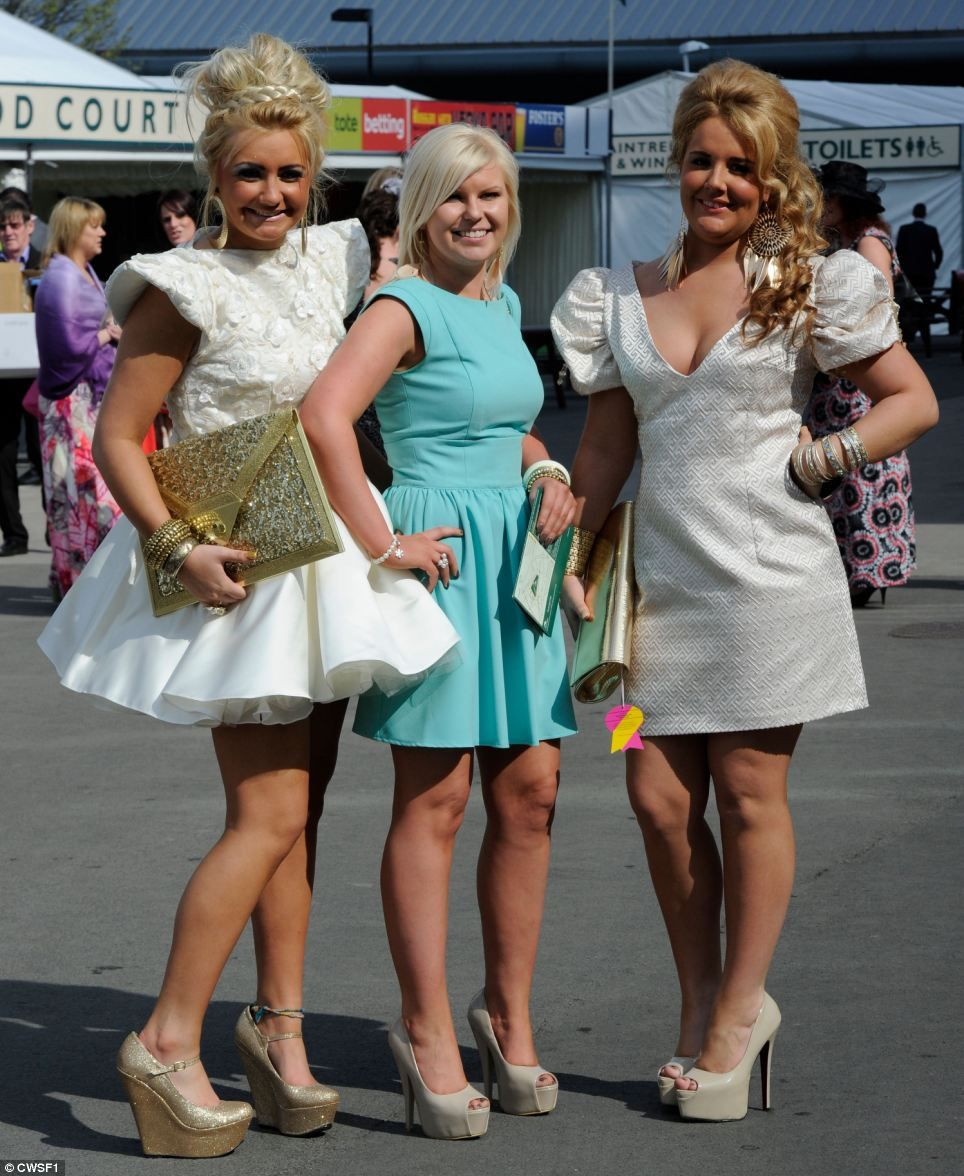 that's a lorra lorra leg! liverpool's finest fillies dress to