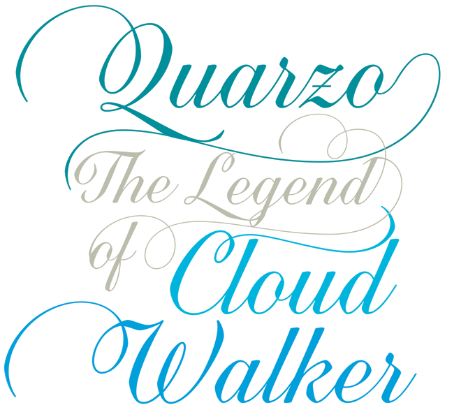 Quarzo is a connected script font based on writing with ...