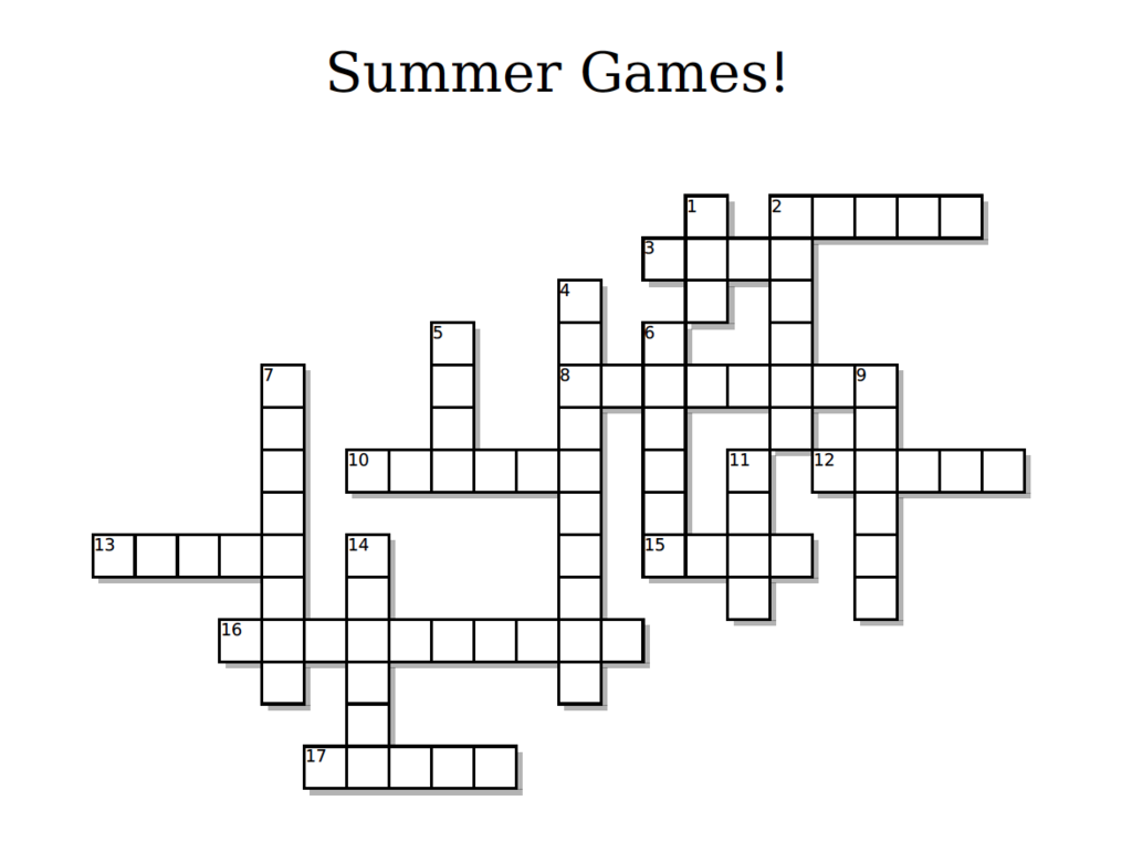 Free olympics crossword puzzle winter games childrens ministry free olympics crossword puzzle kristyandbryce Choice Image
