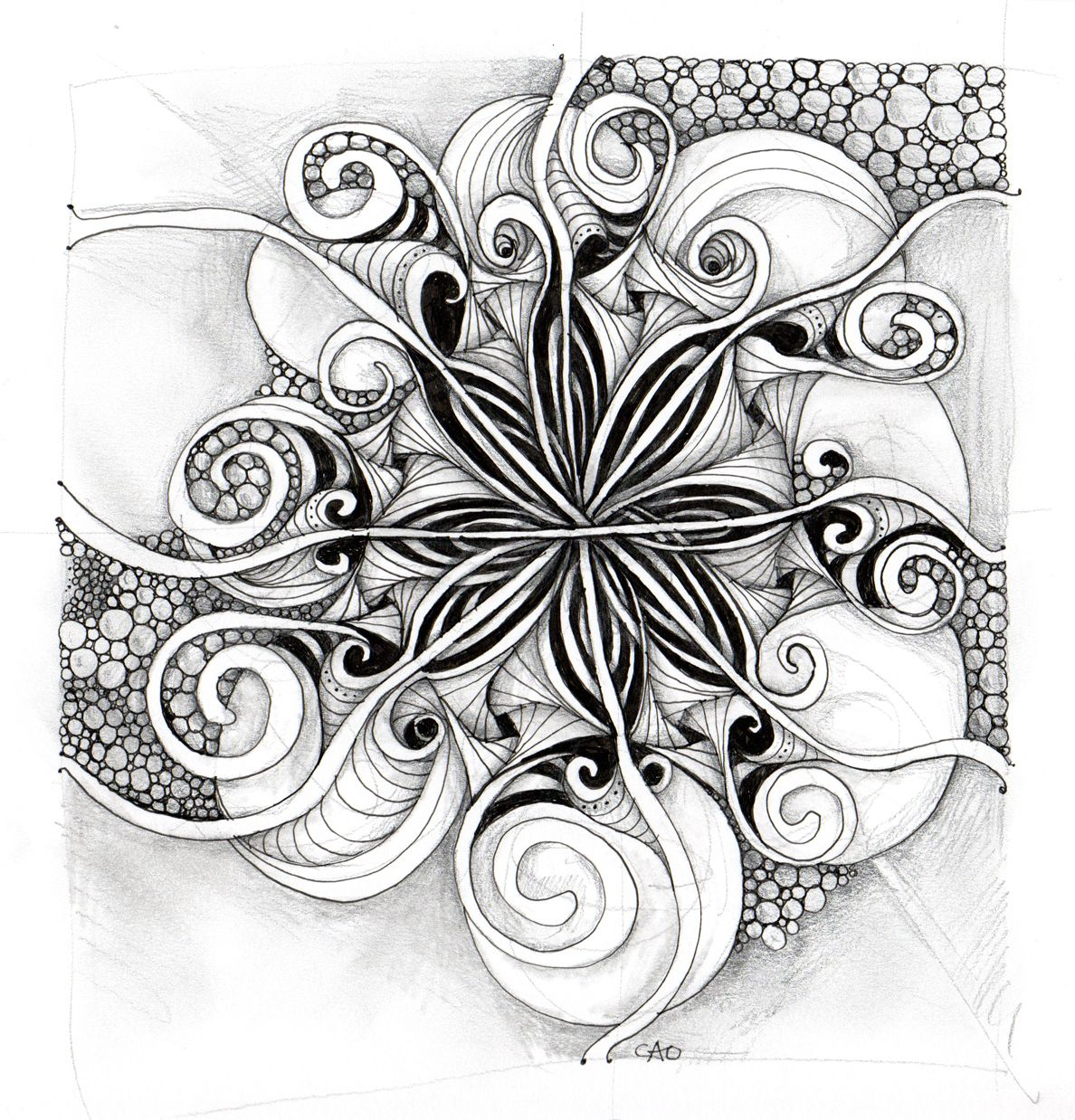 ~ CZT Carole Ohl's work ~ Check out her blog Open Seed Arts