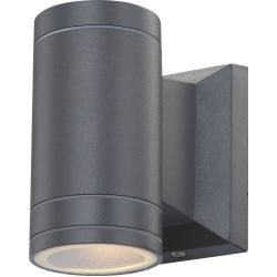 Photo of LED outdoor light Gantar – gray – aluminum roller roller