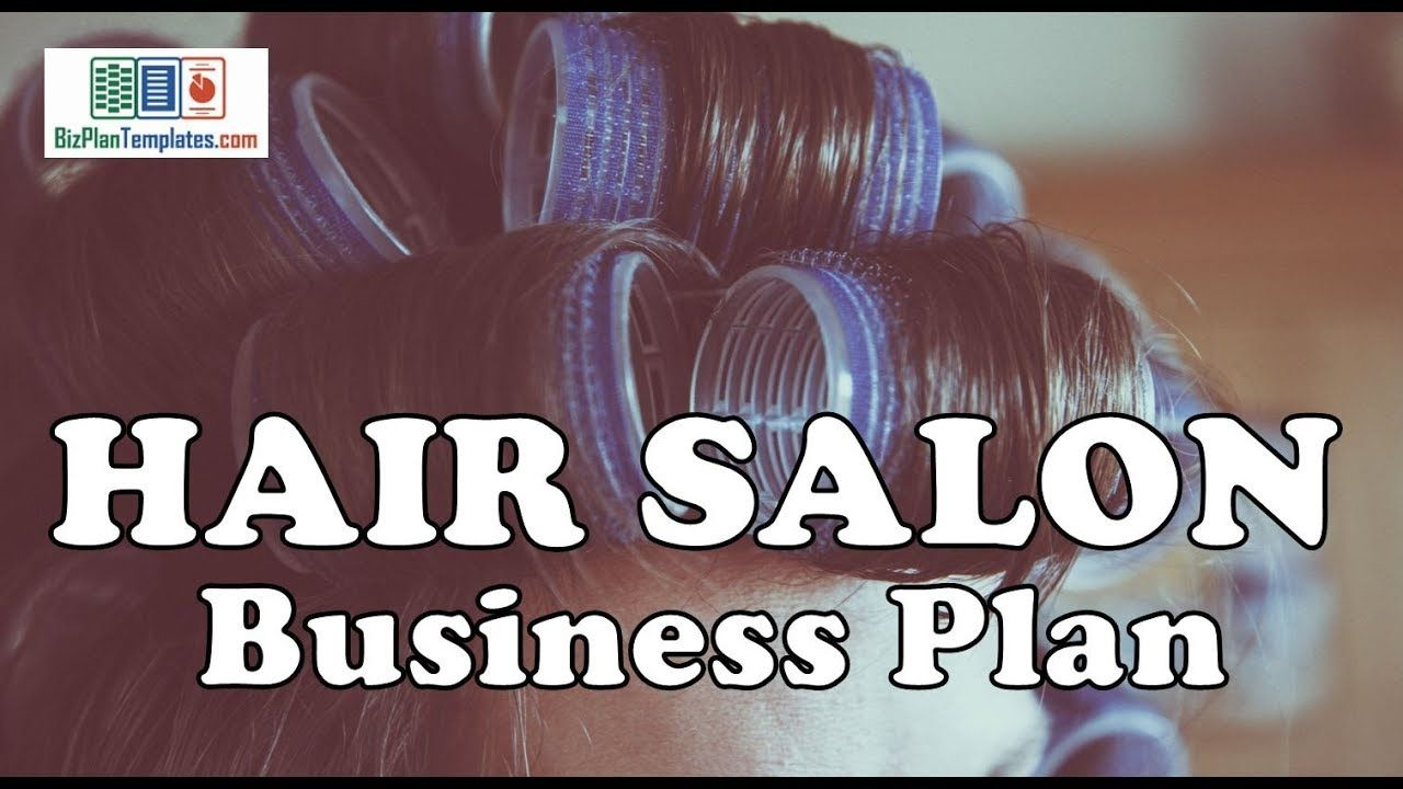 Hair salon business plan example with sample financials