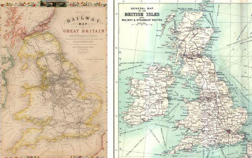 railway map 1850 copy