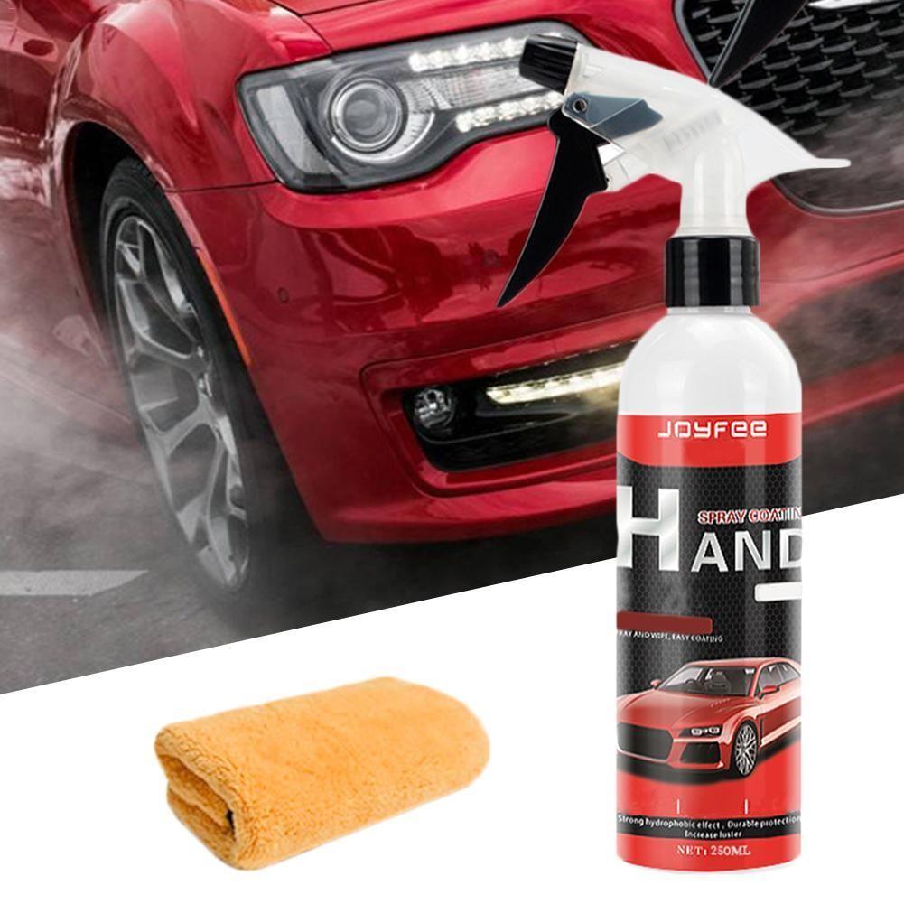Vvcesidot Ceramic Coating Polish Sealant Top Coat Quick Nano Coating 250ml Spray Wax Ceramic Spray Coating Polish Sealant Spray Wax Car Car Polish Spray Wax