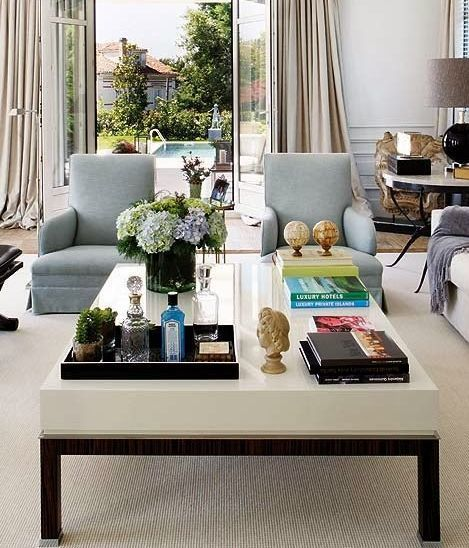 Glass Coffee Table Decorating Ideas 20 best ways to beautifully style your coffee table | cocktail