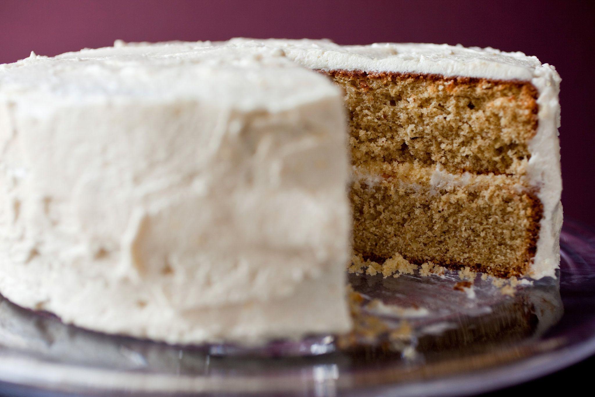 Almond Birthday Cake With Sherry Lemon Buttercream Recipe The