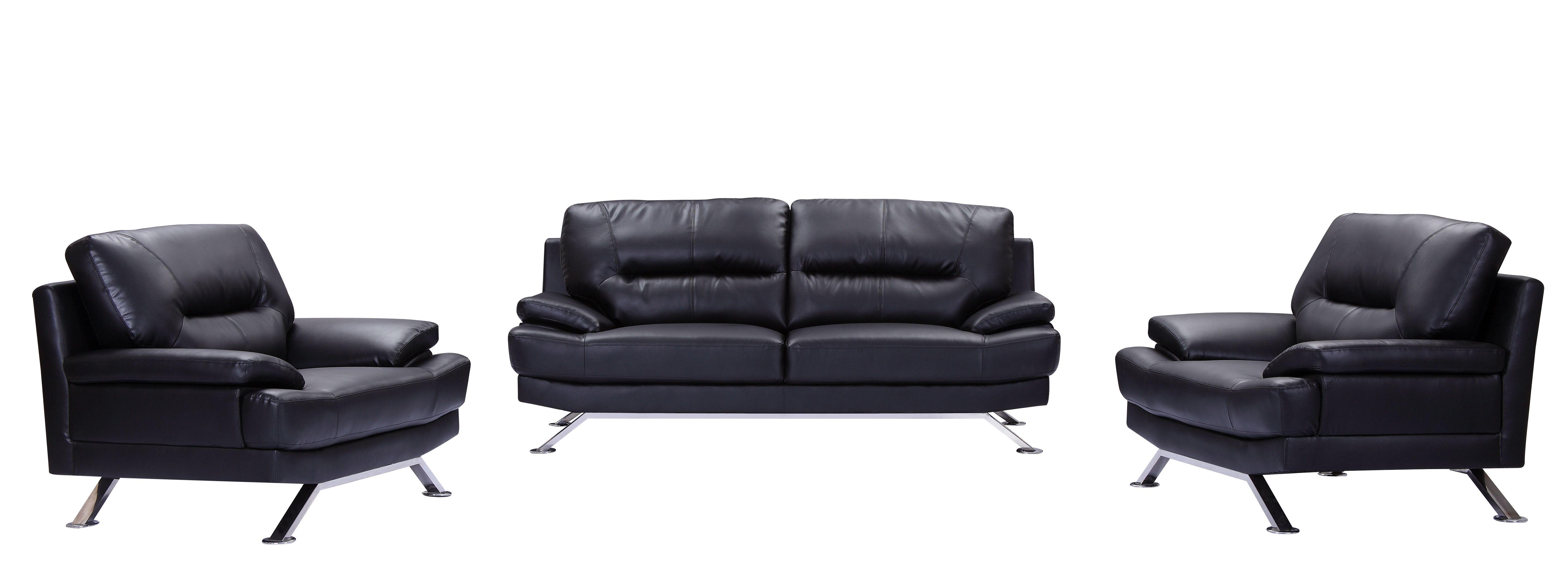 Black Leather Sofa Set 3 2 1 Seater Black Leather Sofa Set Sofa Styling Leather Sofa Set Black Fabric Sofa