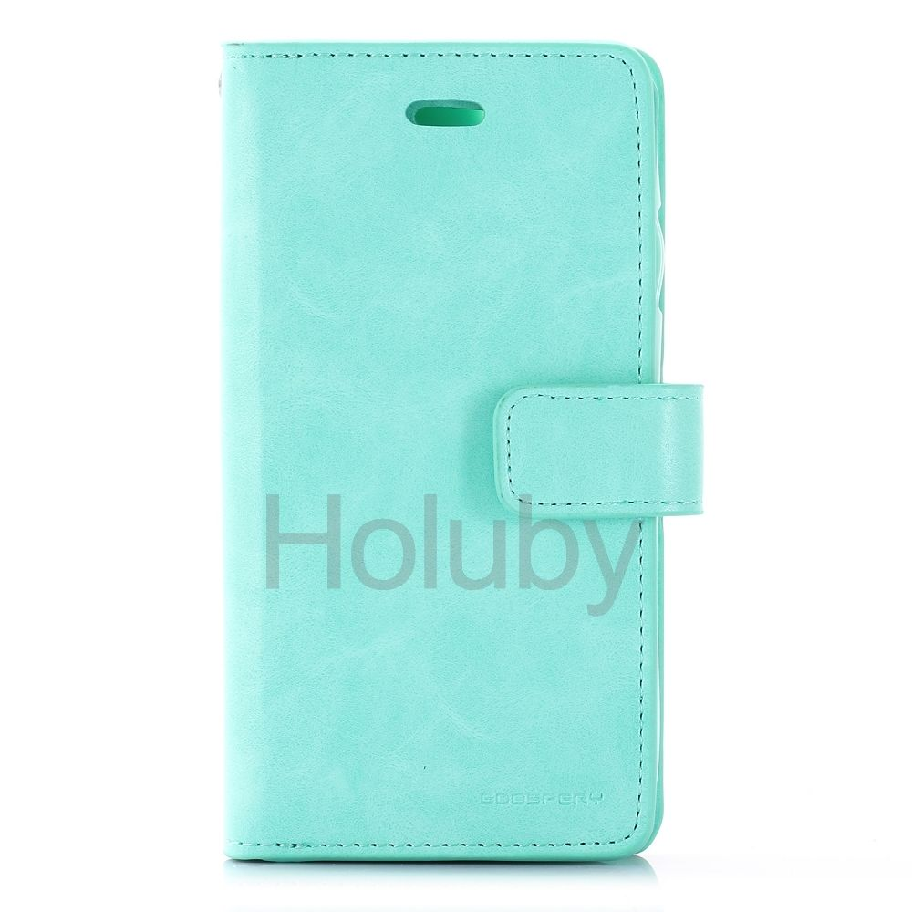 MERCURY GOOSPERY Mansoor Wallet PU Leather Case for iPhone 6S/ 6 - Mint Green