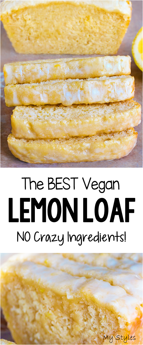 EASY Soft Moist Delicious Vegan Lemon Loaf Cake Recipe #salad #Recipe