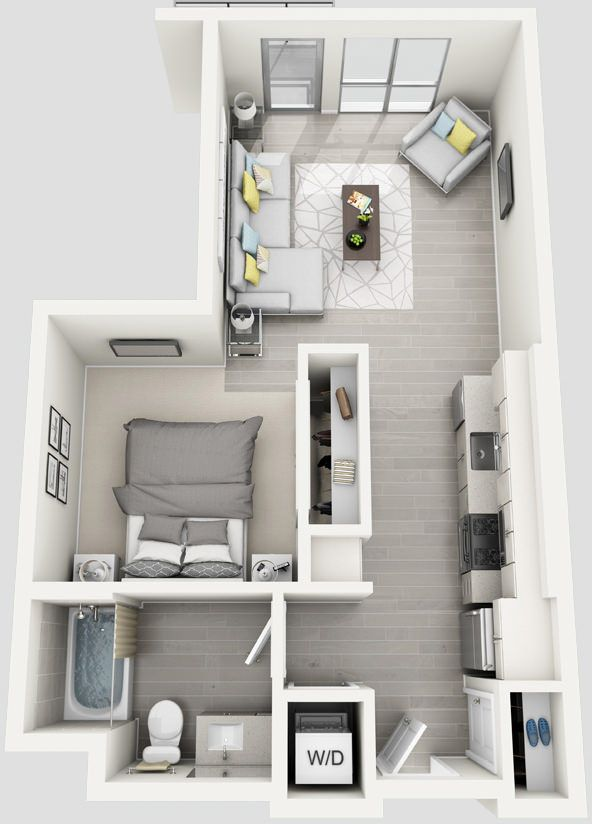Angelene Luxury West Hollywood Apartment On La Brea Sims House Plans Sims House Apartment Layout