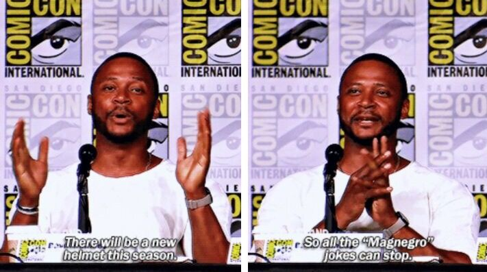 David Ramsey at #TVGuideMagazine Fan Favorites panel #Arrow #SDCC2016