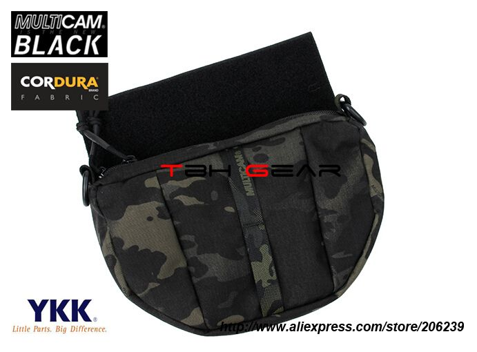 Rasputin Item Add On Fanny Pack Multicam Black Tactical Plate