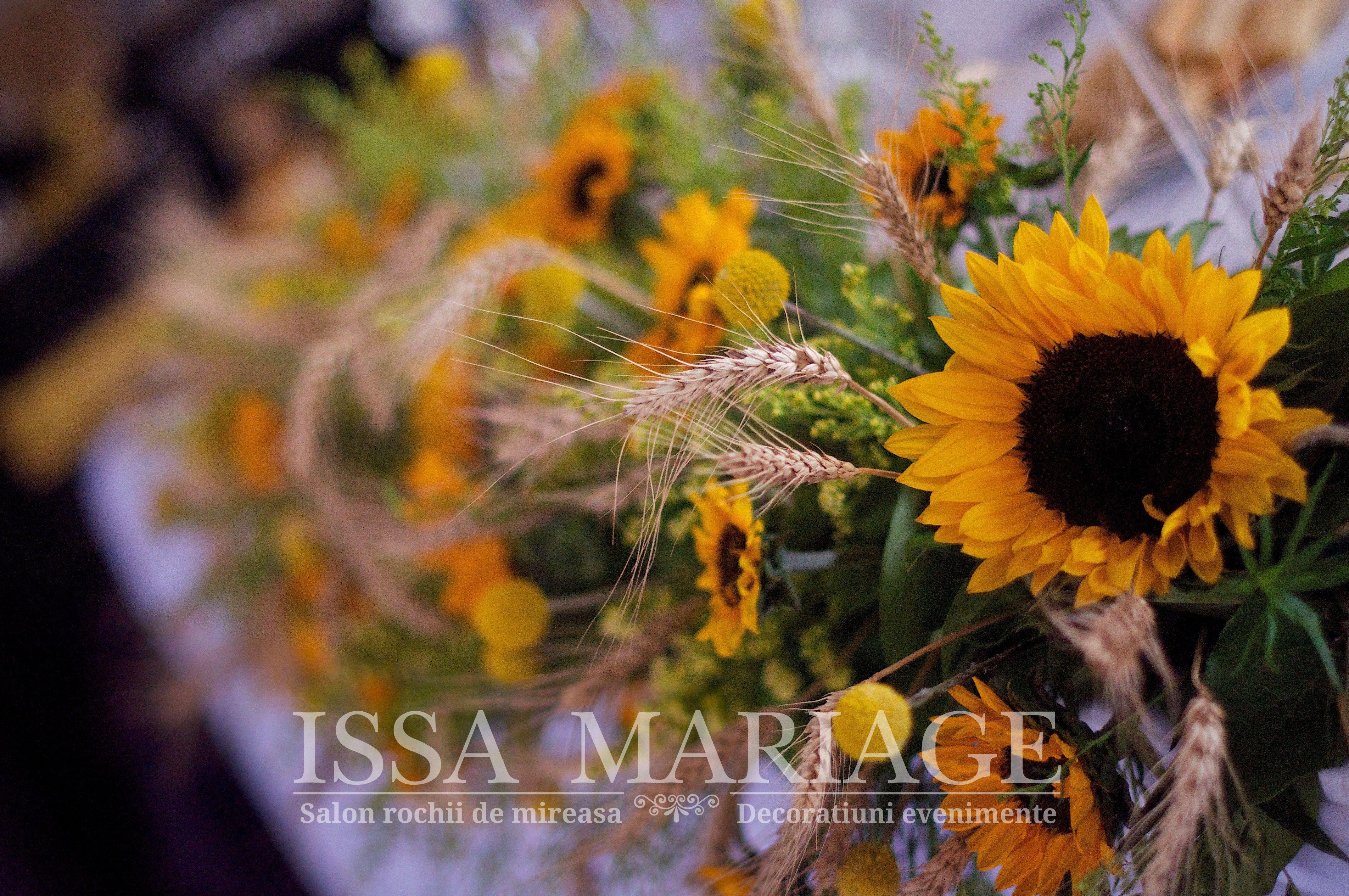Aranjamente Florale Nunta Floarea Soarelui Aranjamente Nunta