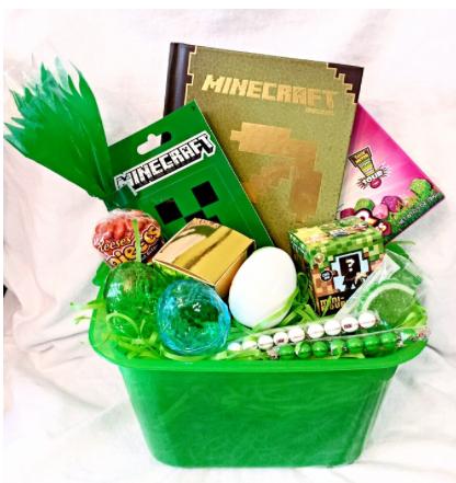 2015 pre filled minecraft easter basket gift bucket amazon 2015 pre filled minecraft easter basket gift bucket amazon includes hardcover minecraft negle Gallery