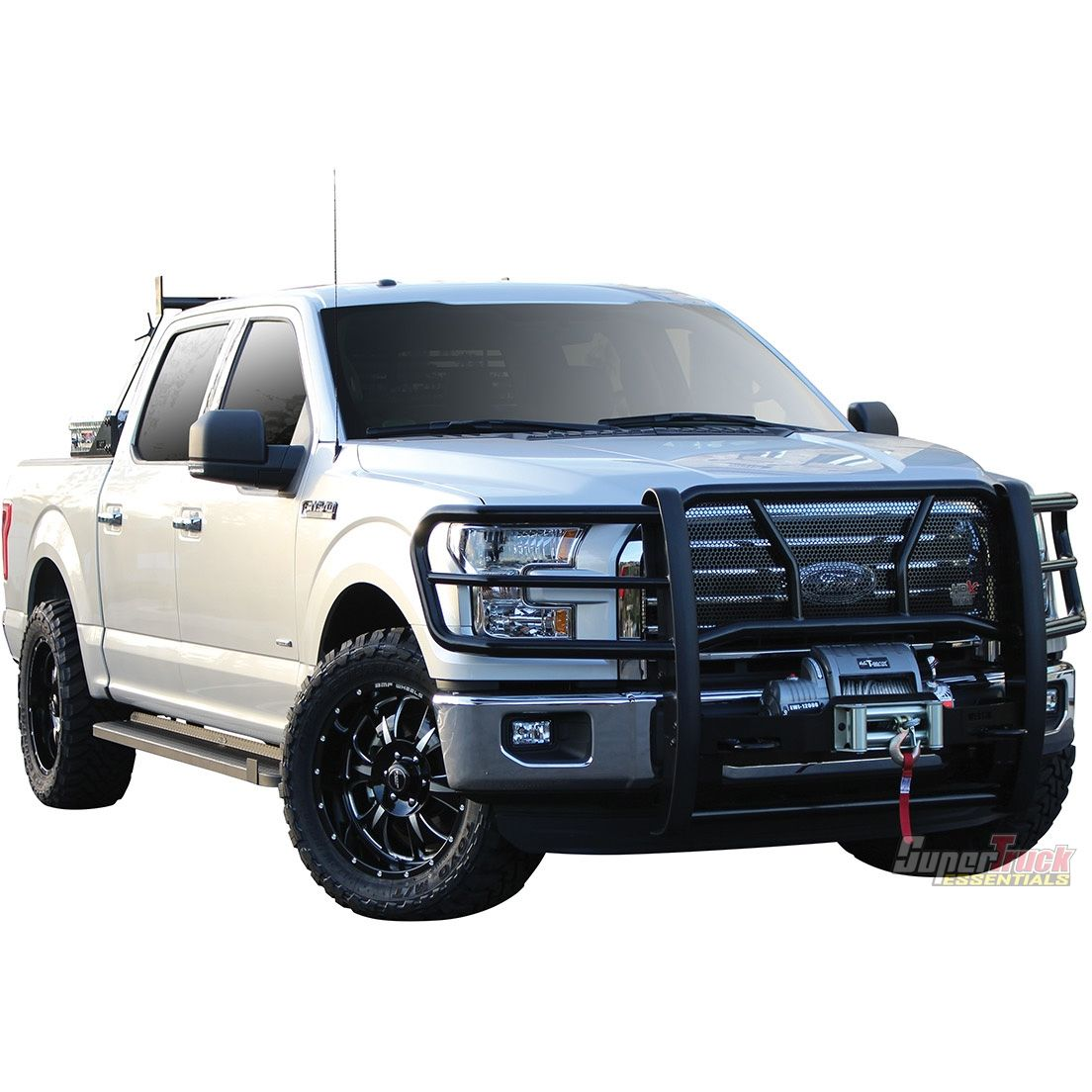 Westin Automotive Hdx Winch Mount Grille Guard For 2015 Ford F 150 Supertruck Ford F150 Grilles Westin