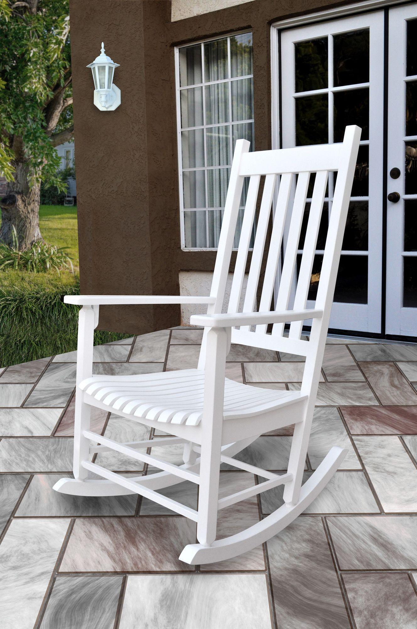 Shine company inc vermont porch rocker chair reviews wayfair
