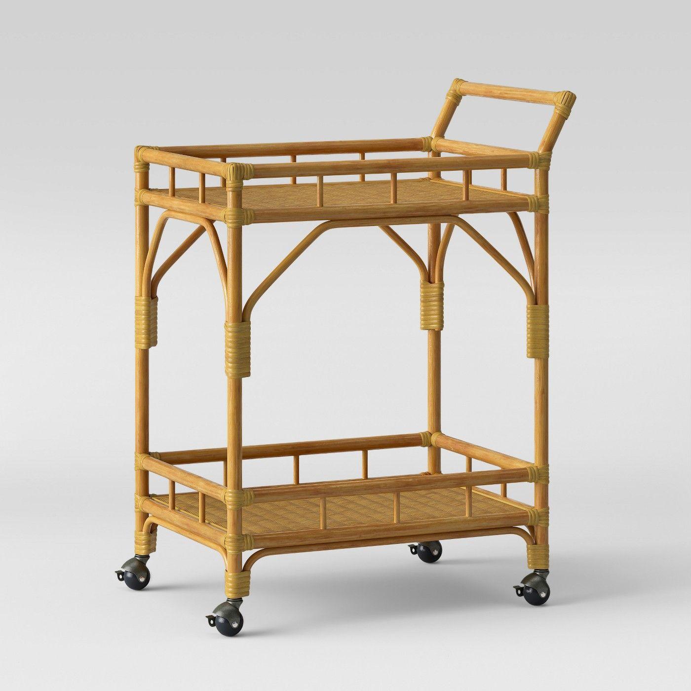 Cassia Rattan Bar Cart Opalhouse Rattan Bar Cart Bar Cart