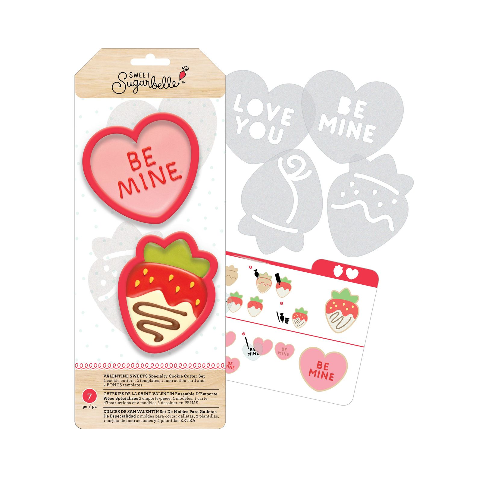 Strawberry Cookie Cutter Set