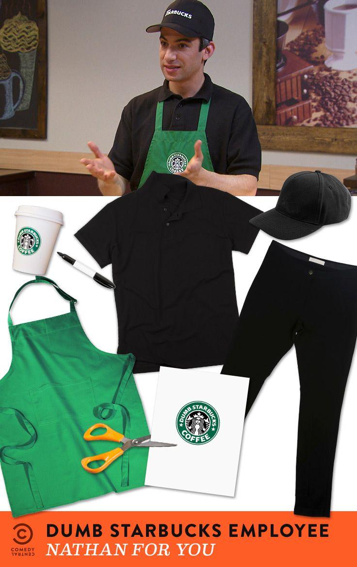 Dress as a Dumb Starbucks employee, use the hashtag