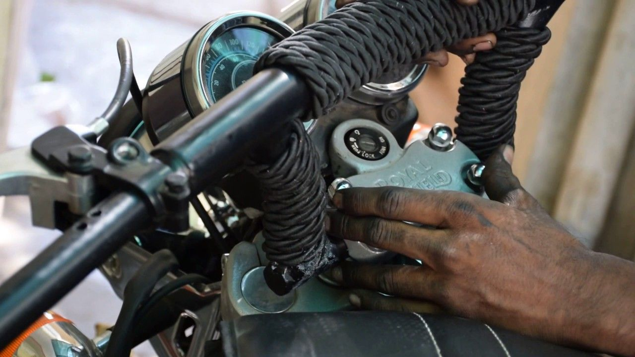 How to Change Handlebar in Royal Enfield Thunderbird | My