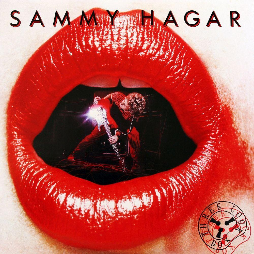 Sammy Hagar Album Covers Sammy Hagar Three Lock Box Album Cover Rock Album Covers Sammy Hagar Classic Rock Albums