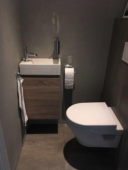 Toilet met Beton Cire, Van Manen Badkamers Barneveld - VAN MANEN ...