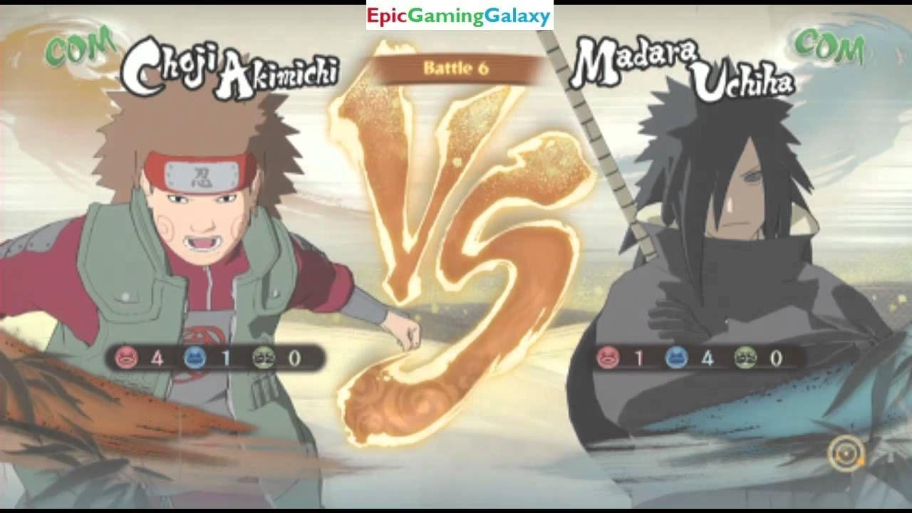 Naruto Shippuden Ultimate Ninja Storm 4 Matches Battles Fights
