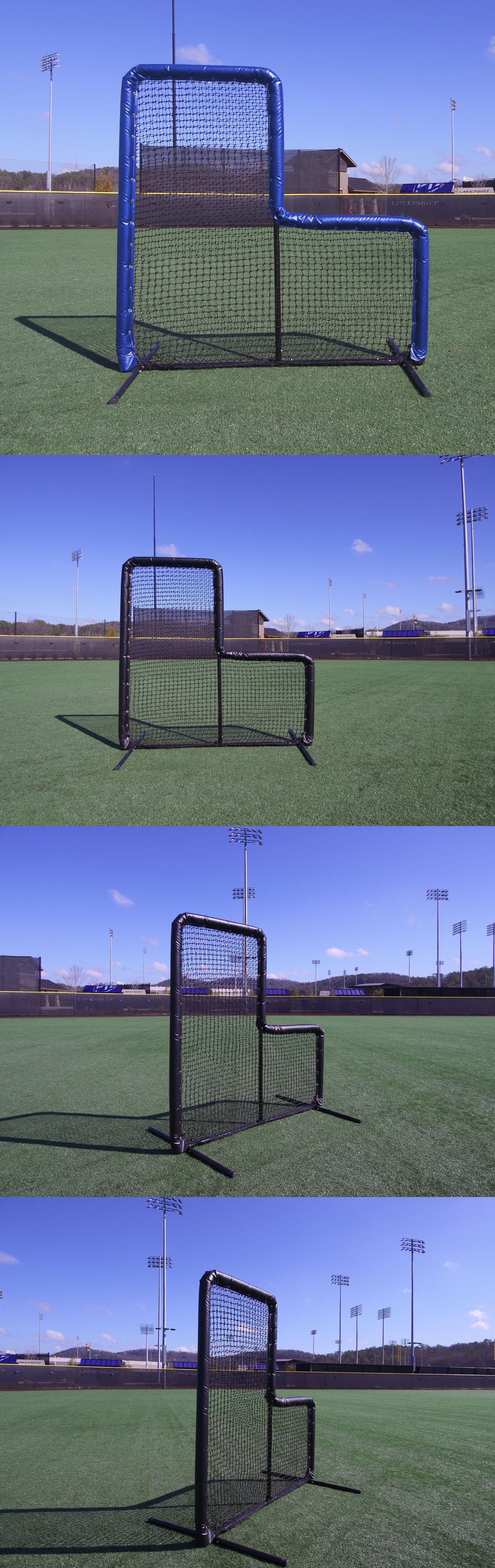Batting Cages And Netting 50809 7 X 7 Armor Baseball Softball Pitching L Screen W Royal Vinyl Foam Padding Batting Cages Softball Pitching Baseball Pitching