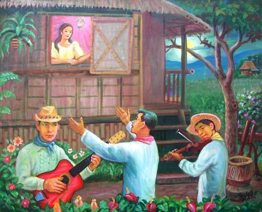 Harana a traditional form of courtship in the
