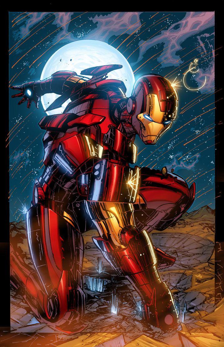 #Iron #Man #Fan #Art. (THE INVINCIBLE IRON MAN) By: K-Bol.