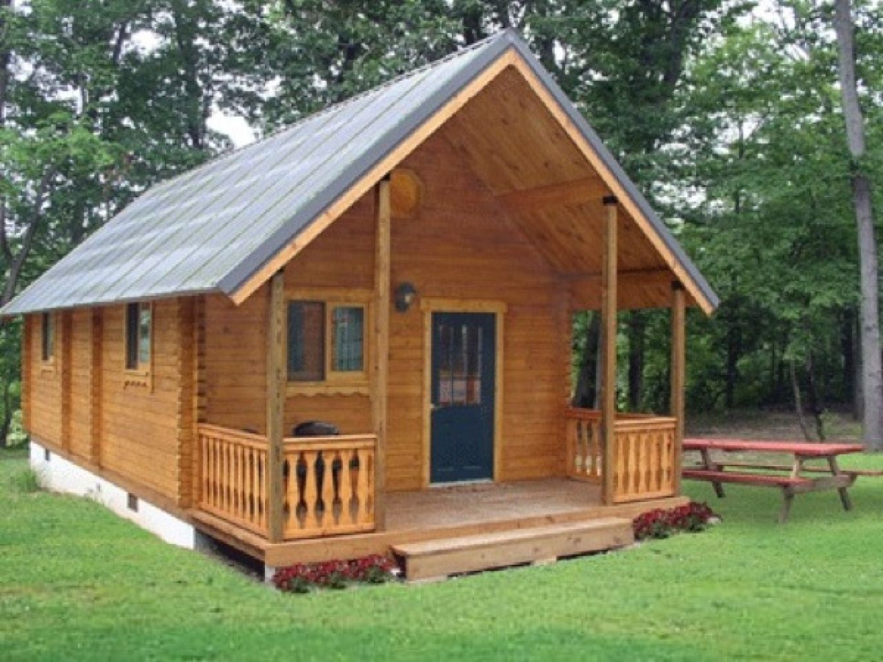 Small cabins with lofts small cabins under 800 sq ft 800 for Tiny cabin ideas
