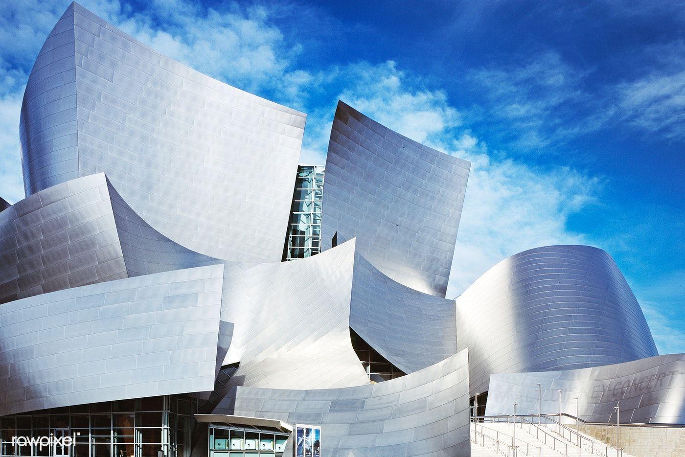 Modernist Architect Frank Gehry S Walt Disney Concert Hall Los Angeles California 2013 Original Im In 2020 Gehry Architecture Frank Gehry Architecture Frank Gehry