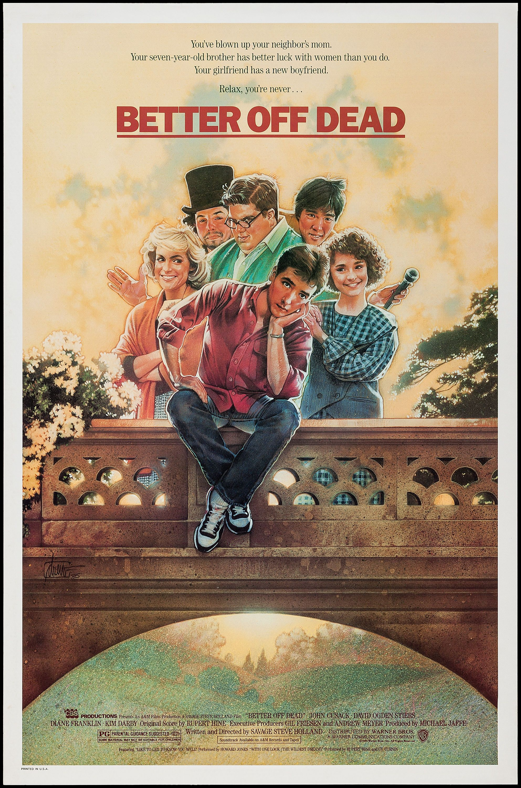 Explore Better Off Dead, Warner Brothers, And More