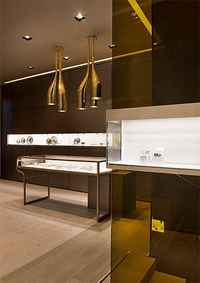 Jewelry Store Design in Milan - Commercial Interior | Jewelry store ...