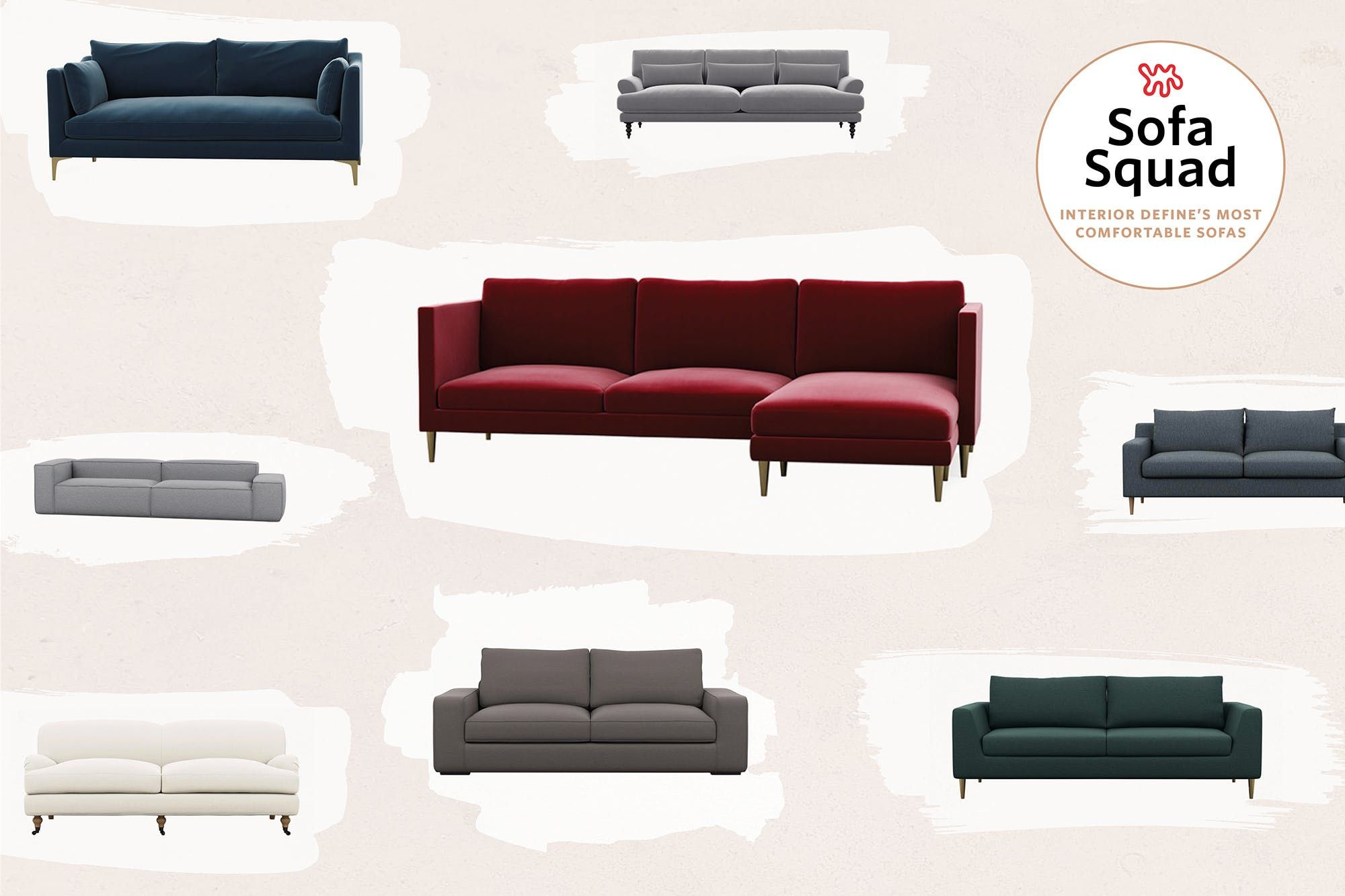 Reviewed: The Most Comfortable Sofas At Interior Define U2014 The Apartment  Therapy Sofa Squad