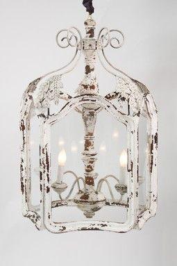 White Shabby Chic Chandeliers Decoration Decor Diy
