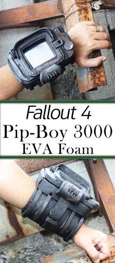 Pip Boy 3000 Fallout 4 EVA Foam | Costumes | Fallout cosplay