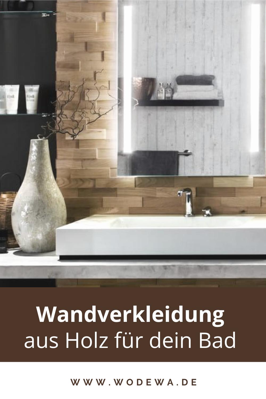 Echtholz Wandverkleidung Im Bad Bad Inspiration Mit Tollen Badezimmer Ideen Fliesen In 2020 Home Decor Inspiration Decor