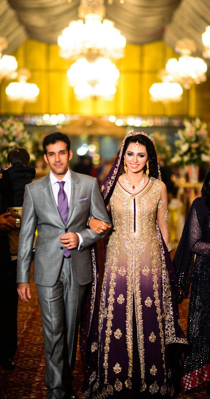 Latest Bridal Dresses purple | Wedding dress | Pinterest