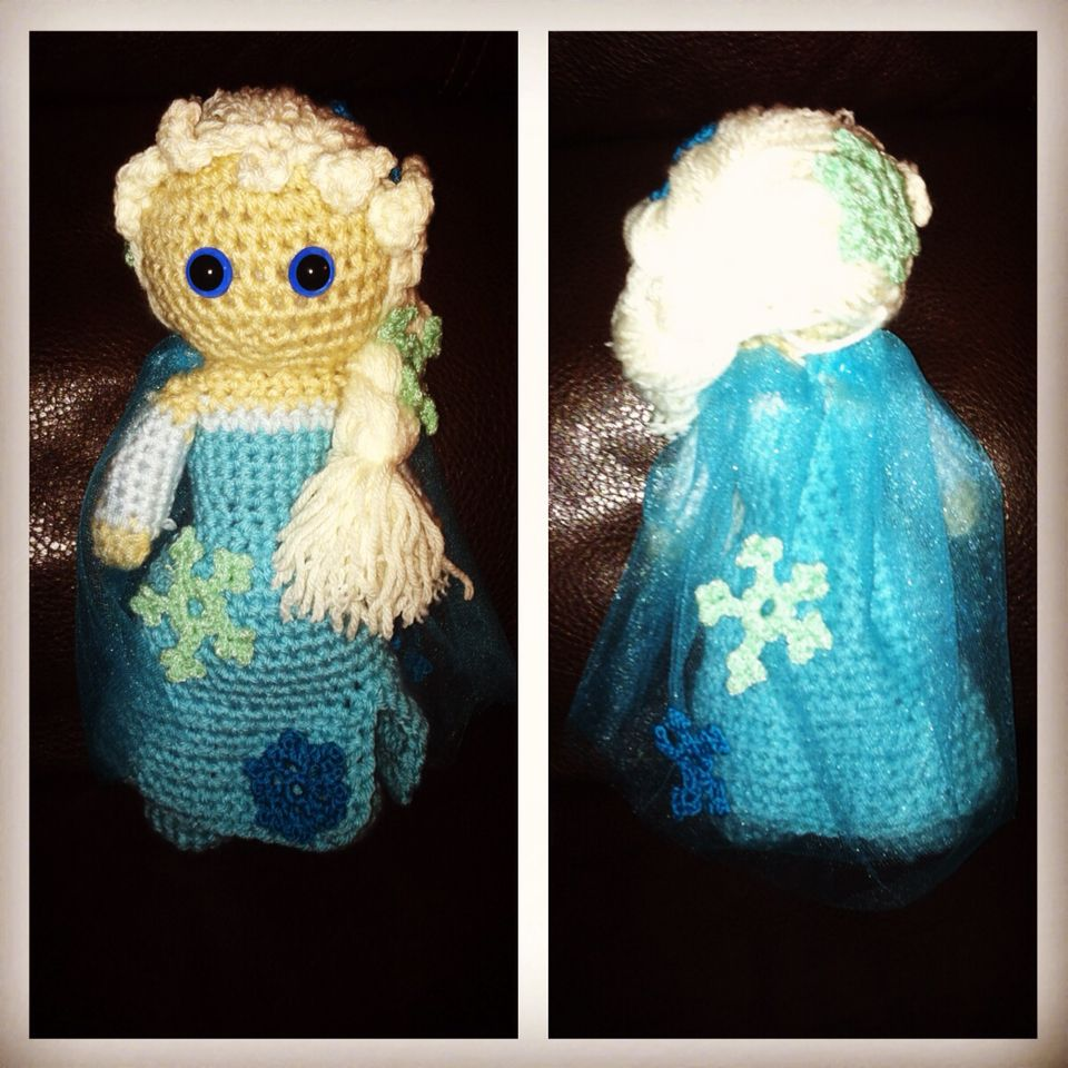 Elsa inspired by Fabiola Armendariz