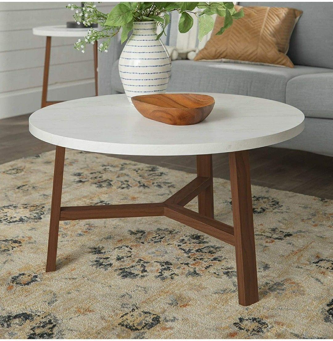 Pin By Theodore Margomenos On Carol Interiors Round Coffee Table Modern Living Room Coffee Table Circular Coffee Table [ 1104 x 1080 Pixel ]