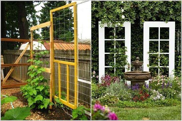 17 Best Upcycled Trellis Ideas For Garden Garden Trellis Designs Garden Trellis Backyard