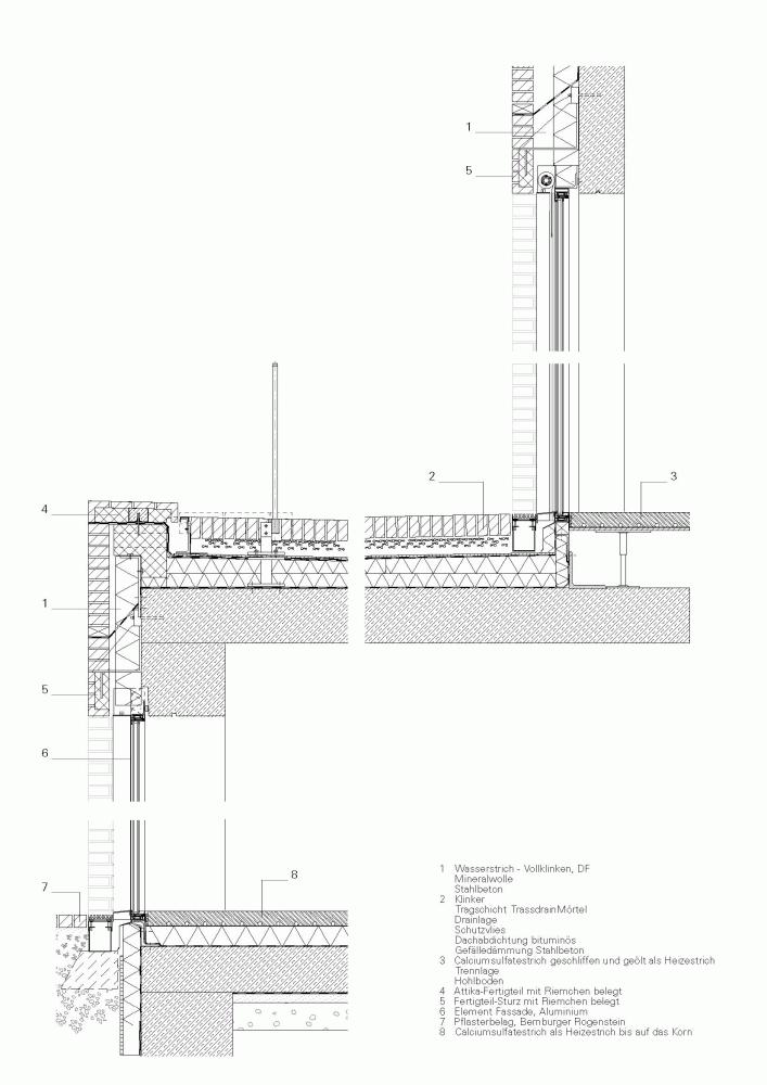 gallery of museum luthers sterbehaus von m 22 fassadenschnitt baukonstruktionen und museum. Black Bedroom Furniture Sets. Home Design Ideas