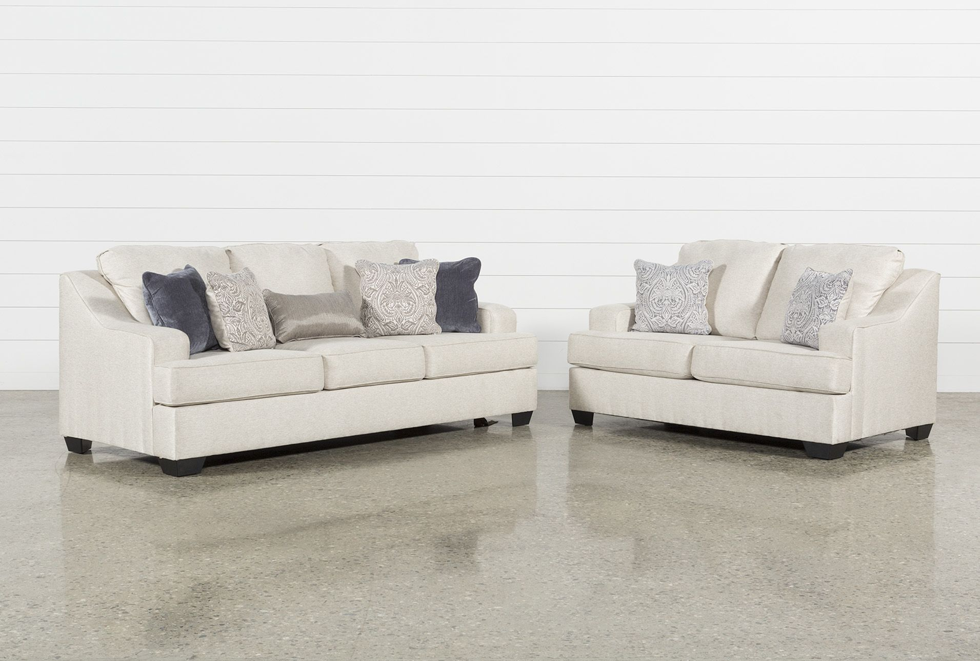 Best Ashley Brumbeck 2 Piece Living Room Set Beige 975 640 x 480