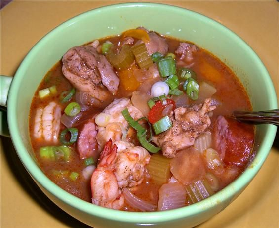 Chicken Shrimp And Sausage Gumbo Recipe Food Annonymous