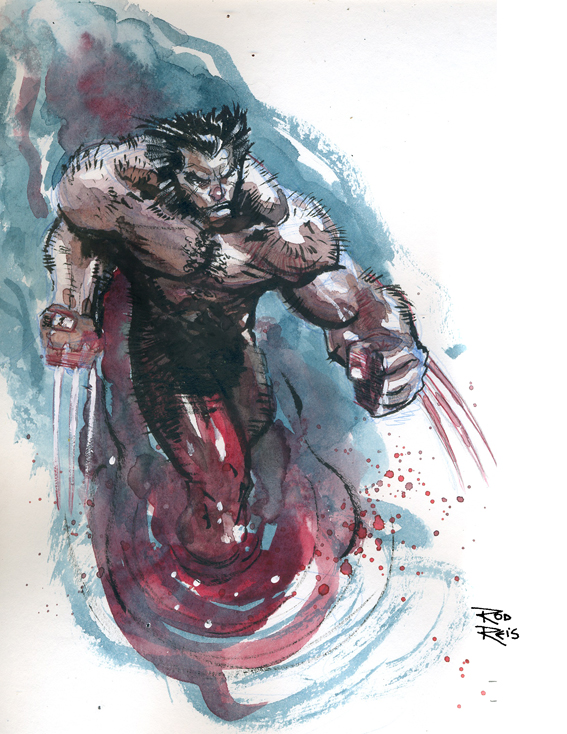 Wolverine by Rod Reis *